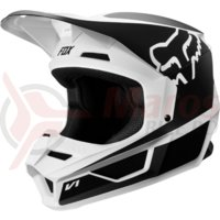 Casca Fox V1 Przm helmet blk/wht