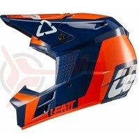Casca Helmet Gpx 3.5 V20.2 Orange Dot+Ece