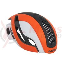 Casca Lazer Bullet matte flash orange white