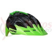 Casca Lazer Oasiz black camo flash green