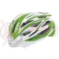 Casca Mighty Fast Road verde/alb L (58-61 cm)