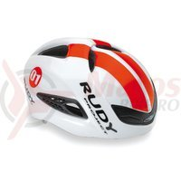 Casca Rudy Project Boost 01 alb/rosu fluo 59-61 cm