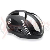 Casca Rudy Project Boost 01 negru/alb 59-61 cm