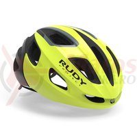 Casca Rudy Project Strym yellow fluo