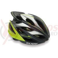 Casca Rudy Project Windmax graphite/lime fluo 54-58 cm