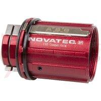 """Caseta butuc aluminiu """"Novatec D2 SH ABG"""" """"Tip B2"""" 8-11 viteze"""
