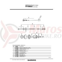 Caseta Shimano FH-M665