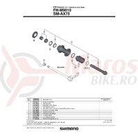 Caseta Shimano FH-M9010 complet