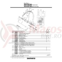 Caseta Shimano Wh-mt68 Y4RL98020