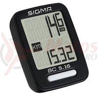 Ciclocomputer bicicleta Sigma BC 5.16