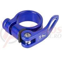Colier sa QR M-Wave 31.8mm albastru