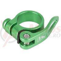 Colier sa QR M-Wave 34.9mm verde