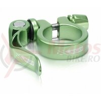 Colier tija sa cu prindere rapida XLC PC-L04 31.8mm verde lime