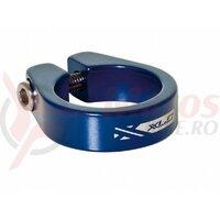 Colier tija sa XLC PC-B05 31.8mm cu imbus albastru