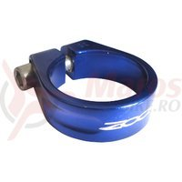 Colier tija sa Zoom AT-83 al. 35mm albastru anodizat