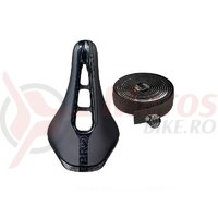 Combi pack Pro incl. sa Stealth 142mm black stainless rails si ghidolina Team black