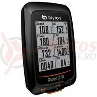 Computer Bryton Rider 310E GPS, negru