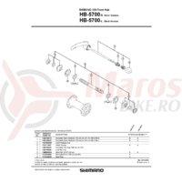 Con Shimano HB-5700 contrapiulita