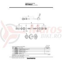Con Shimano HB-M665 contrapiulita stanga