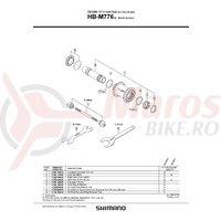 Con Shimano HB-M776 contrapiulita M25