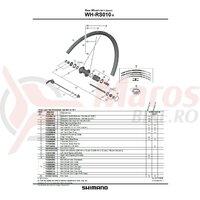 Con Shimano WH-RS010-R dreapta