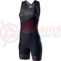Costum Triatlon Castelli Free W Tri Suit de dama negru/multicolor