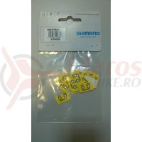 Custom fit temperature sticker yellow 250mmx150mm
