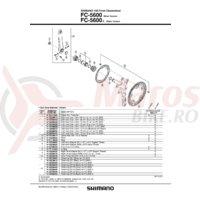 Cuveta Shimano FC-5600 left (B.C.1.37