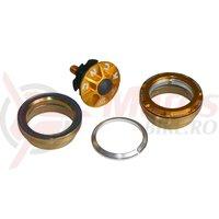Cuvetarie integrata 1.1/8' KCNC Radiant KR3 gold