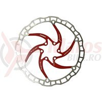 Disc frana Ashima ARO-08 185mm rosu