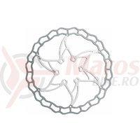 Disc frana Ashima ARO-09 160mm Super Light alb