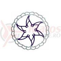 Disc frana Ashima ARO-09 160mm Super Light albastru