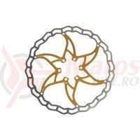 Disc frana Ashima ARO-09 180mm Super Light auriu
