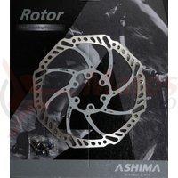 Disc frana Ashima ARO-15 160mm alb