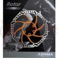 Disc frana Ashima ARO-15 160mm auriu