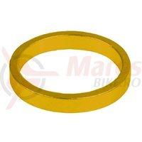 Distantieri aluminiu 1.1/8 5mmx6buc M-Wave gold/orange anodizat