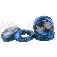 Dop ghidon Funn Combat II cu lock ring albastru set