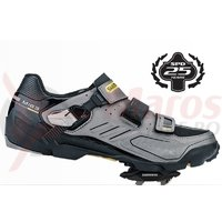 Editie limitata pantofi ciclism Shimano Trail/Enduro SH-M163G Grey + Pedale