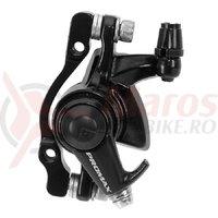 Etrier frana disc mecanic Promax adaptor spate 160 mm/fata 180 mm