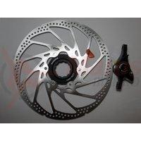 Etrier frana pe disc + Rotor Shimano Saint BR-M800 Fata Hidraulica