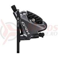 Etrier frana pe disc Shimano GRX BR-RX810 fata flat mount adaptor pt. rotor 140/160mm