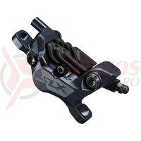 Etrier frana pe disc Shimano SLX BR-M7120 hidraulic fata sau spate post mount placute metal n04c cu aripioare de racire