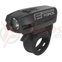 Far fata Force Bug USB 400Lm negru