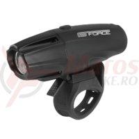 Far fata Force Shark USB 700Lm negru