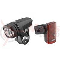 Far si stop Axa Greenline 50 lux USB 1 led negru