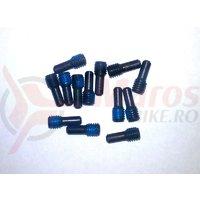Fastener Fox custom set screw dog point radius M3x0.5mm 0.300 TLG SS (14)
