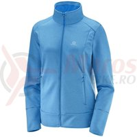 Fleece Salomon Discovery FZ hawaiian surf heathe femei