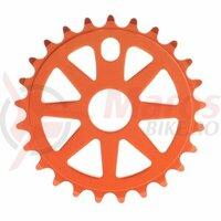 Foaie angrenaj BeFly BMX Attack aluminiu 25T orange