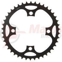 Foaie angrenaj metal E-Bike 40T BCD 104 1/2×3/32″ si 1/2×11/128″
