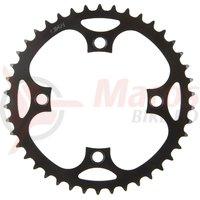 Foaie angrenaj metal E-Bike 46T BCD 104 1/2×3/32″ si 1/2×11/128″